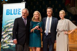 Rick Rosenthal, Katya Shirokow, Jim Toomey and Kelly Rutherford @BLUE2015Monaco