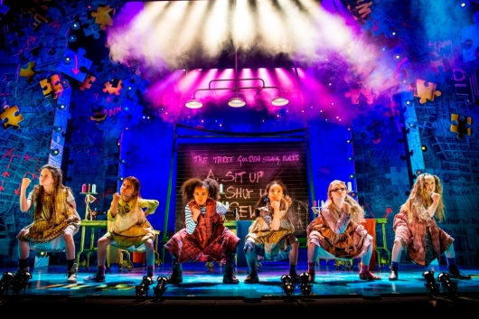 Scene from musical Annie (3)