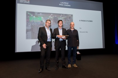 A Passo d'Uomo received the Cinema Prize 2015 @Richard Concept Photo