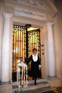 Caterina Reviglio Sonnino at La Maison de France @CelinaLafuenteDeLavotha