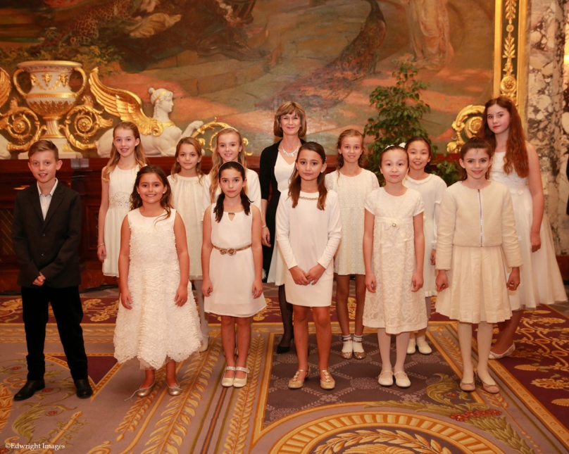Chorus of the International School of Monaco directed by Colette Marx-Nielsen ©EdWImages_AImc2015_0045