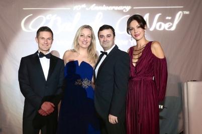Eric Paolino (Audemars Piguet Monaco), Alexia Romani (arije, Nicolas Besancon (Audemars Piguet France) and Sandrine Garbagnati Knoell@laurentcia