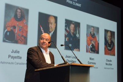 French Astronaut Patrick Baudry, member of the Jury of the Climate Prize @Richard Concept Photo