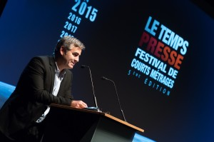 Marc Oberon, Founder of the Festival Le Temps Presse @Richard Concept Photo