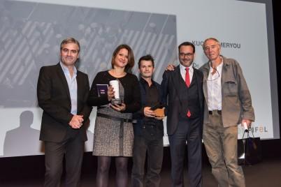 Marc Oberon, Sonia Le Grand, Timothee Mathelin (Fifel Prize 2015), Michel Merkt and Eric Valli @Richard Concept Photo