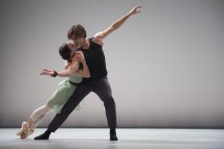 Olga Smirnova and Artem Ovcharenko of the Bolshoi Ballet at the Inattendus December 2015 Salle Garnier (1) @Alice Blangero