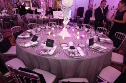 The elegant table setting with gifts from Audemars Piguet @laurentcia