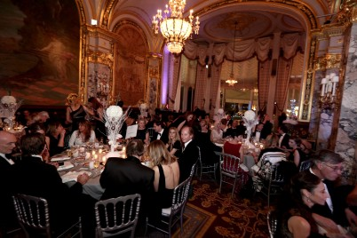The magnificent Salle Empire of the Hotel de Paris during the Christmas Ball @laurentcia