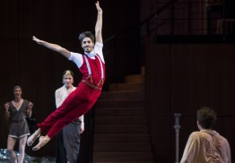 The Nutcracker as a new choreographer in Nutcracker Company 2015@Alice Blangero