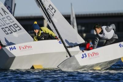 Optimist Team Race sailors @FTerlin