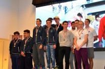 All on the podium @Societe Nautique Monaco