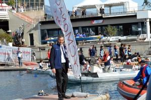 Jean-Francois Gourdon, President of the Societe Nautique de Monaco @Societe Nautique Monaco
