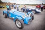 Jerome D'Ambrossio (6) dan Bruno Senna (2) siap automobilůFIAFormulaE balap Fangio
