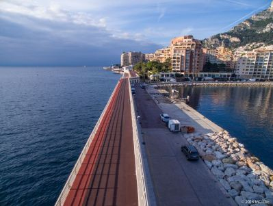 Jogging track in Fontvieille @MC Clic