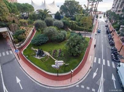 Jogging track in the Princess Grace Rose Garden in Fontvieille @MC Clic