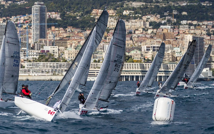 Melges 20 sailing in the wind 32nd Primo Cup 2016 @Luca Butto
