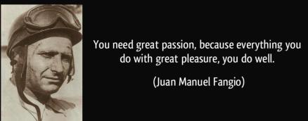 Quotation from Juan Manuel Fangio
