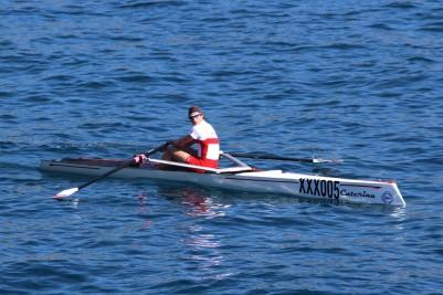 Solo rower from the Monaco team aboard Caterina @CelinaLafuenteDeLavotha