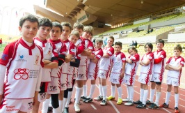 The rugby Monegasque team