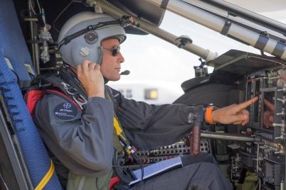 Bertrand Piccard's first flight on Solar Impulse 2 @Revillard /Rezo.ch