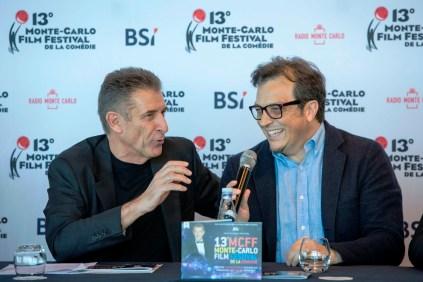 Ezio Gregg with Gabriele Muccino @Infomonacopress