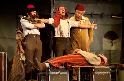 Hamlet at Gdansk Shakespeare Theatre, Poland (3)_20 Sept 2014_Photo Bronwen Sharp