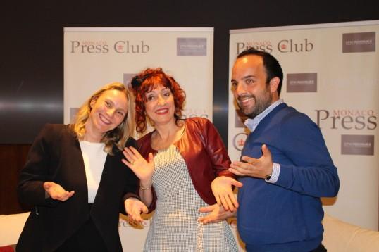 Milena Radoman, Noelle Perna and Cedric Verany @CelinaLafuenteDeLavotha