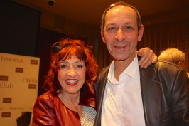 Noelle Perna with her partner Alain @CelinaLafuenteDeLavotha