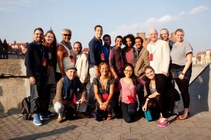 The cast of Hamlet Globe to Globe