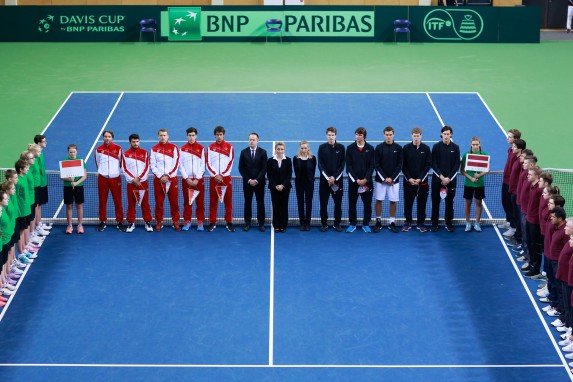 The Monaco and Latvia teams @Kaspar Volonts (LAT)_V8C9692