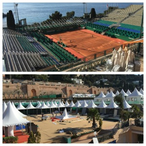 The Monte-Carlo Country Club getting ready for the Rolex Masters 2016 @CelinaLafuenteDeLavotha