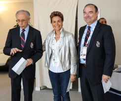 Alain Manigley, with winner Celina Lafuente de Lavotha and Philippe Rialland @ Philippe Fitte jpeg