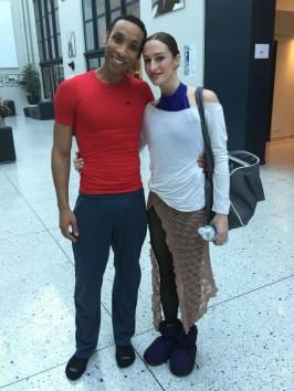 Alexis Oliveira and Alessandra Tognoloni, dancers of the Monte-Carlo Ballet @CelinaLafuenteDeLavotha