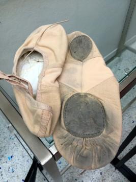 Ballet shoes @CelinaLafuenteDeLavotha