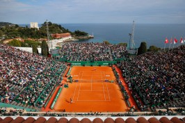 Central court at the Monte-Carlo Rolex Masters 2015 @MCRM