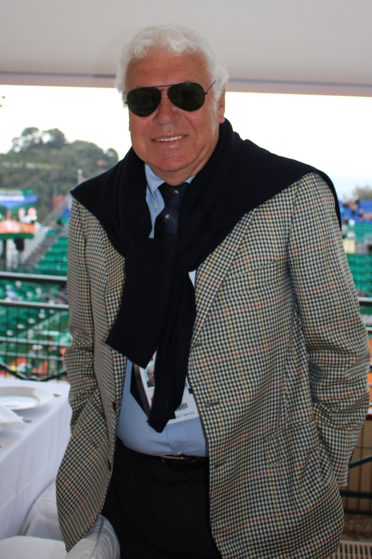 Former tennis player Nicola Pietrangeli CelinaLafuenteDeLavotha