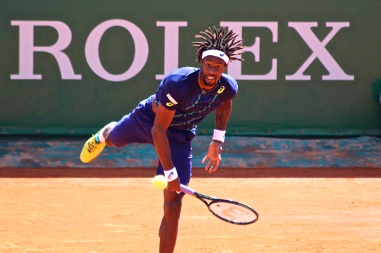 Gael Monfils beat G. Muller on first round at MCRM @CelinaLafuenteDeLavotha