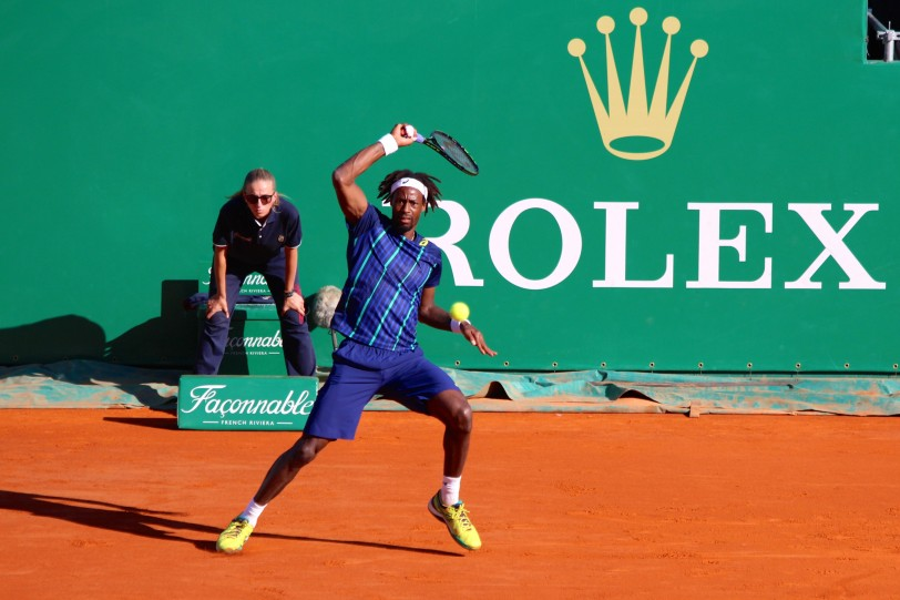 Gael Monfils Wednesday, April 13, 2016 @CelinaLafuenteDeLavotha