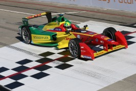 Lucas Di Grassi won Long Beach e-Prix @P1 Media Relations ABT Schaeffler Audi Sport