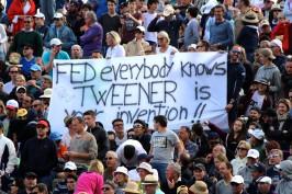 Message for Roger Federer from the fans @CelinaLafuenteDeLavotha