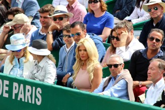 Model and actress Victoria Silvstedt at the Monte-Carlo Rolex Masters @CelinaLafuenteDeLvotha