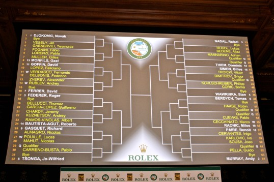 Official Singles draw for the Monte-Carlo Rolex Masters 2016 @CelinaLafuenteDeLavotha
