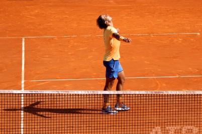 Rafael Nadal after defeating Andy Murray in the semis @CelinaLafuenteDeLavotha