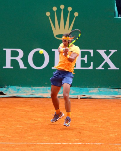 The King of Clay is back! MCRM 2016@CelinaLafuenteDeLavotha
