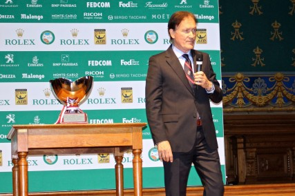 Zeljko Franulovic, Tournament Director of the Monte-Carlo Rolex Masters @CelinaLafuenteDeLavotha