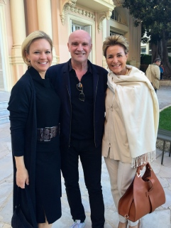 Kathleen Nies, Jean-Christophe Maillot and Celina Lafuente de Lavotha