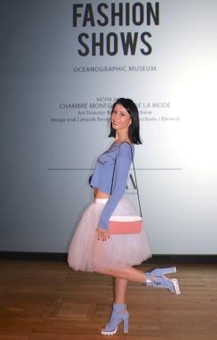 Alina Grey, Fashion Blogger, wearing Nando Muzi shoes MCFW2016 @CelinaLafuenteDeLavotha