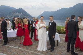 Cocktail on the terrace of Villa Principe Leopoldo, Lugano @FSE