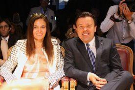 ederica Nardoni Spinetta with Stephane Valeri, Minister of Health of Monaco at MCFW2016 @CelinaLafuenteDeLavotha