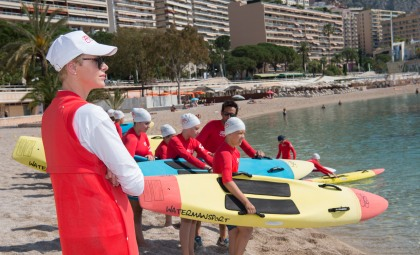 HSH Princess Charlene during WaterSafetyDay @Prince's Palace Monaco